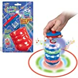 Toy Laser Flash Light Spinning Top Spinner w music Song