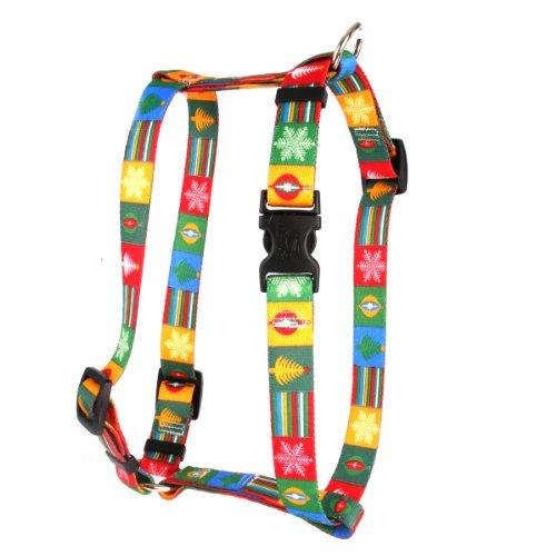 Yellow Dog Design Pet Harness, Large, Holiday Blocks (Yellow Dog Design Harness Medium compare prices)