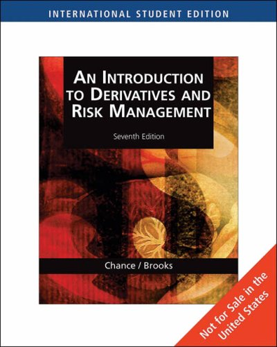 essays in derivatives chance Read essays in derivatives risk-transfer tools and topics made easy by don m chance with rakuten kobo in the updated second edition of don chance's well-received.