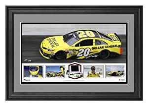 Matt Kenseth Framed Panoramic with Race-Used Tire-Limited Edition of 500 - - Memories... by Sports Memorabilia
