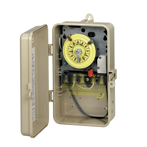 Intermatic T104P201 DPST Time Switch In Plastic Enclosure