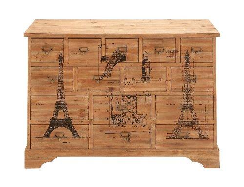 Woodland Imports 15 Drawer Dresser front-76170