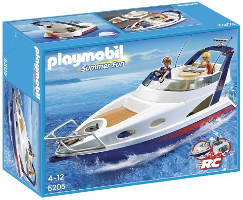 Playmobil 5205 - Yacht Fuoribordo, Limited Edition