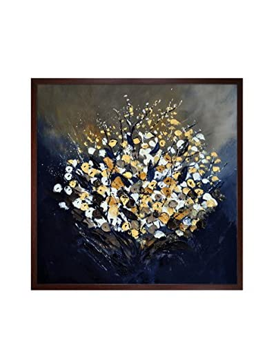 "Pol Ledent ""Abstract Still Life 66313091"" Framed Canvas Print"