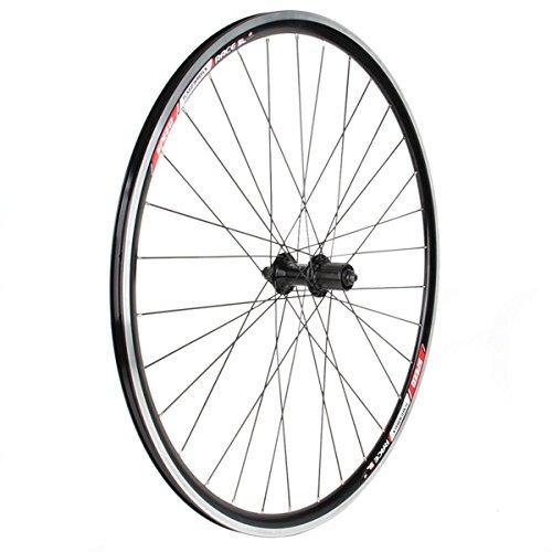 Sta-Tru 700 x 20 ST Superlight Rear 32h 2200 Hub Stainless Steel Spoke 8/9 Speed Black Bicycle Wheel - RW70SL22K