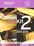 Drum Kit 2014-2019 Book 2 Grades 3 & 4 (With Free Audio CD)