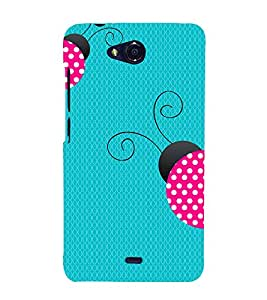 Honey Bee 3D Hard Polycarbonate Designer Back Case Cover for Micromax Canvas Play Q355