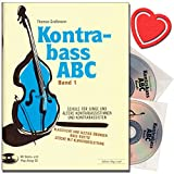 Kontrabass ABC Band 1 - Kontrabassschule mit 2 CDs - Schule...