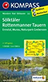 Slktler - Rottenmanner Tauern - Ennstal - Murau - Naturpark Grebenzen 1 : 50 000: Wanderkarte mit Radrouten und Skitouren. GPS-genau