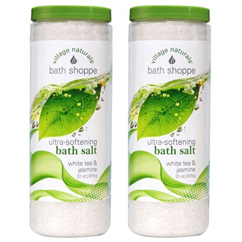 Village Naturals Bath Shoppe White Tea Body Soak 31 oz (2)