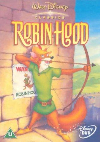Robin Hood (Disney) [DVD]