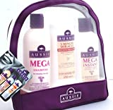Aussie Gift Set Mega Shampoo / Mega Conditioner / 3 Minute Miracle Reconstructor (Red)