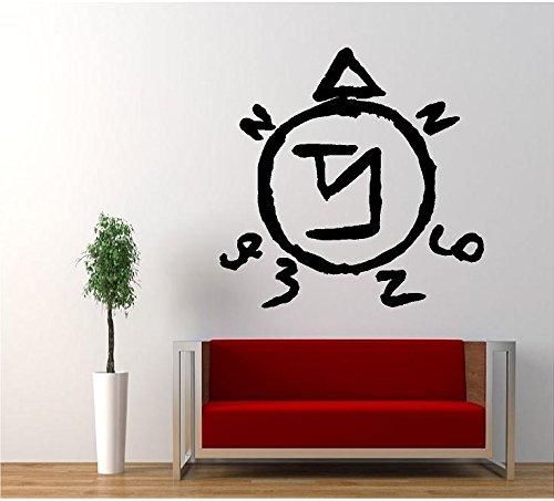 Angel Sigil Banish Symbol Supernatural Vinyl Sticker Decal for Car Windows Truck Room (5.5