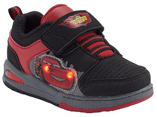Disney-Boys-Lightning-McQueen-Cars-Light-Up-Skate-Shoes