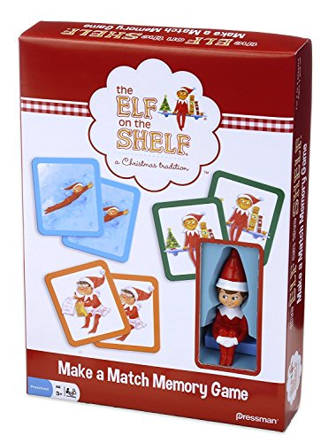 [Elf on the Shelf Make-a-Match Game -- Based on the Bestselling Books] (Six Million Dollar Man Costume)