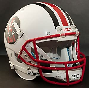 LOUISVILLE CARDINALS 1980 Schutt AiR XP Authentic GAMEDAY Football Helmet by ON-FIELD