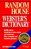 Random House Webster's Dictionary: Second Edition (034540095X) by Dictionary