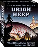 echange, troc Uriah Heep : The Official Live Collection - Coffret 6 DVD