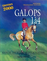 GALOPS 1 A 4. Programme officiel, Edition 2000
