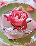 img - for Table Settings: Special Touches for Easy Entertaining book / textbook / text book