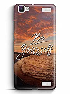 YuBingo Be Yourself Designer Mobile Case Back Cover for Vivo V1 Max