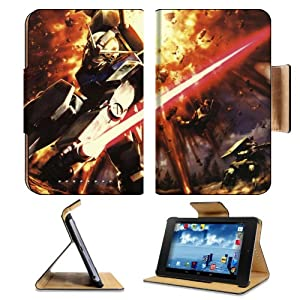 Gundam in Battle Artwork Google Nexus 7 Flip Case Stand Magnetic Cover Open Ports Customized Made to Order Support Ready Premium Deluxe Pu Leather 7 7/8 Inch (200mm) X 5 Inch (127mm) X 11/16 Inch (17mm) Liil Nexus 7 Professional Nexus7 Cases Nexus_7 Accessories Graphic Background Covers Designed Model Folio Sleeve HD Template Designed Wallpaper Photo Jacket Wifi 32gb Luxury Protector Android 4.2 Jelly Bean