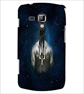 PrintDhaba Trishul D-4673 Back Case Cover for SAMSUNG GALAXY S DUOS S7562 (Multi-Coloured)