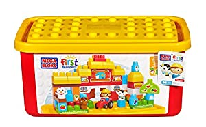 Mega Bloks Buildable Toy Chest Farm Tub (Colors May Vary)