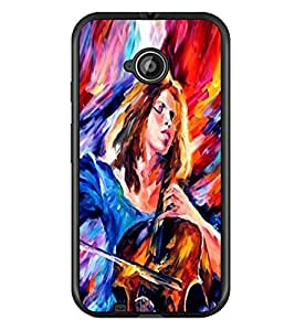 PRINTSWAG QUOTES Designer Back Cover Case for MOTOROLA MOTO E2