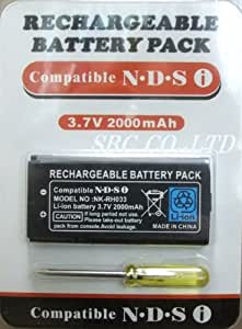 【 NEW 】 DSi専用 長持ちバッテリー交換用 2000mAh SBC仕様 予備品に