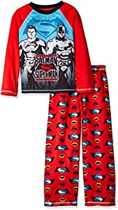 DC Comics Boys' Batman Vs Superman 2pc Sleepwear Set at Gotham City Store