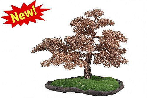 Copper Wire Bonsai Tree