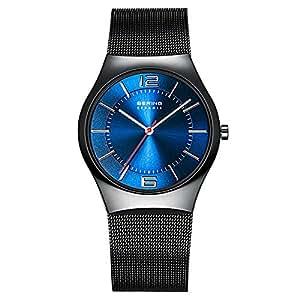 BERING Time Herren-Armbanduhr Slim Ceramic 32039-447