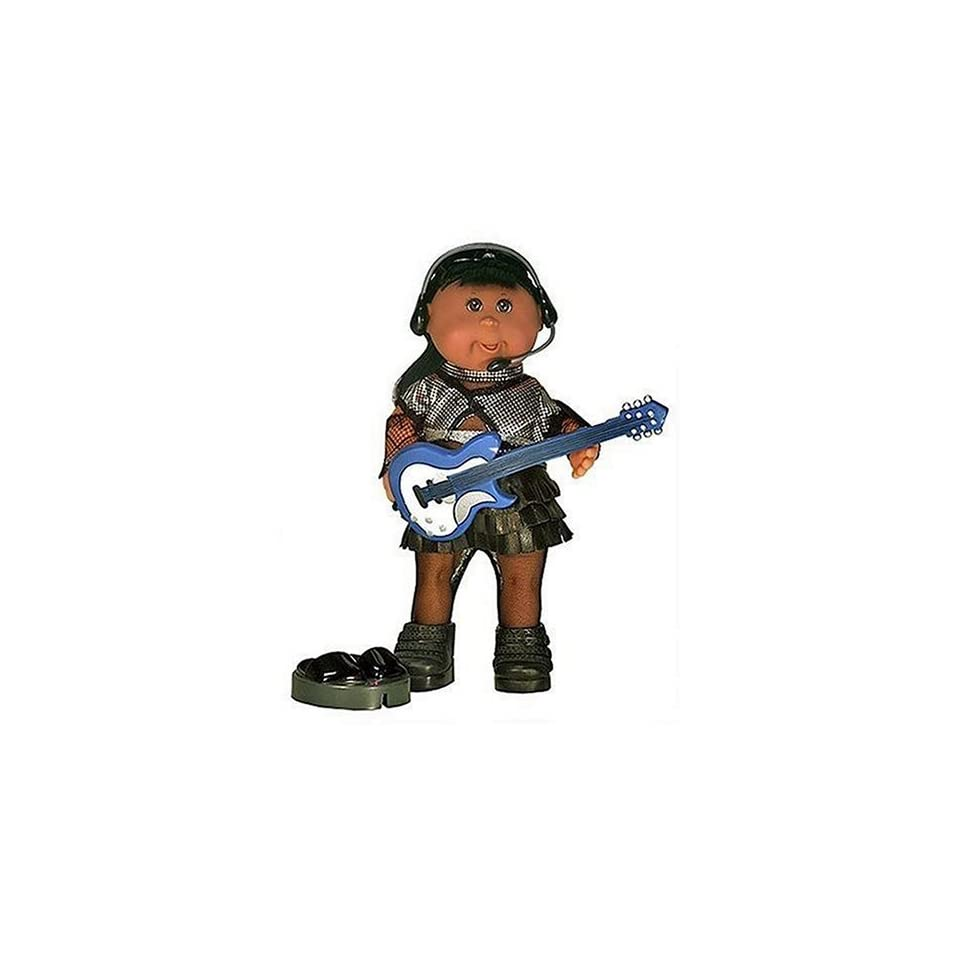 Cabbage Patch Kids Mini Dolls   Pop Stars Collection   African American Girl in Punk Skirt