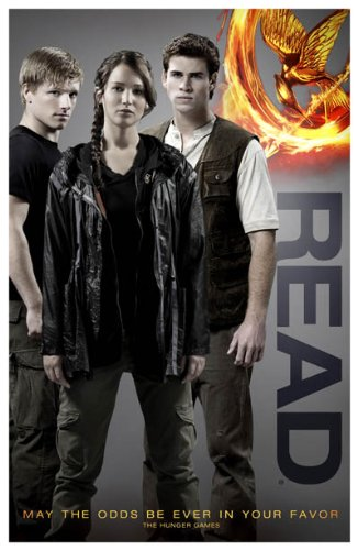 Hunger Games Poster - Promo Flyer 2012 Movie - 11 X 17 - Jennifer Lawrence - Read