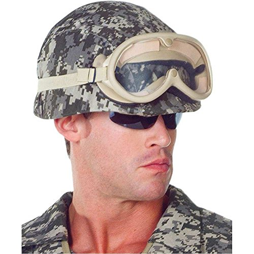 Camouflage Army Helmet - One Size