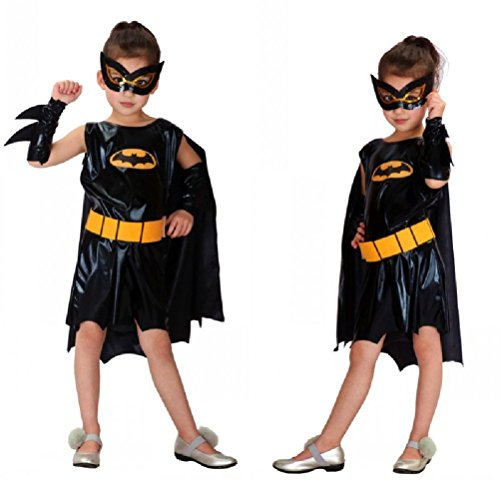 Purplebox Batman Halloween Costume Cosplay Princess Dress Children