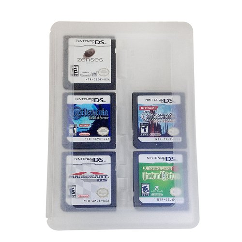HDE 24-in-1 Game Card Travel Protective Storage Carry Case Holder Organizer for Nintendo 3DS Cartridges