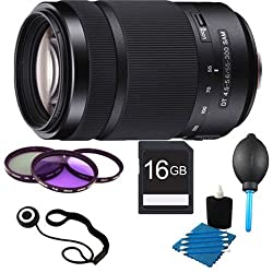 Sony 55-300mm DT f/4.5-5.6 SAM Telephoto Zoom Lens