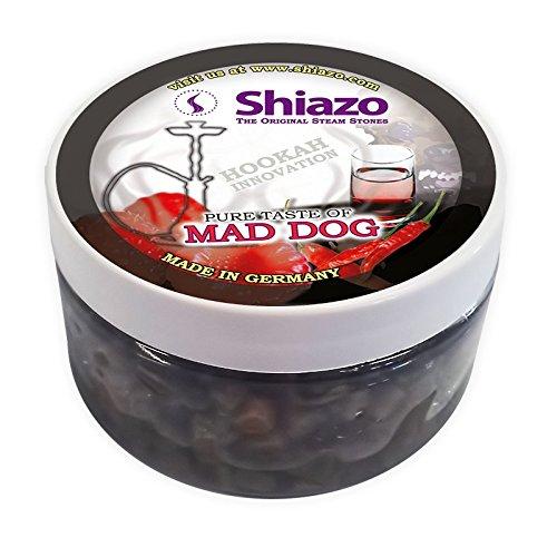 shiazo-100gr-mad-dog-whiskey-tabasco-himbeere-stein-granulat-nikotinfreier-tabakersatz-100gr