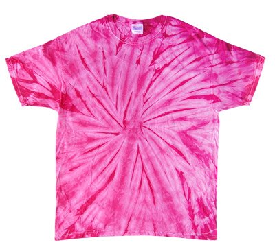Tie Dye SPIDER PINK Retro Vintage Groovy Youth Kids Tee Shirt T-Shirt