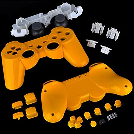 PS3 Polished Yellow Replacement Controller Shell