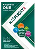 Kaspersky One Universal Security, 3 Device, 1 Year License (PC/Mac/Android)