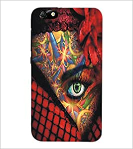 PrintDhaba Bright Eye D-5448 Back Case Cover for HUAWEI HONOR 4X (Multi-Coloured)