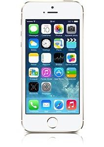 Apple iPhone 5s Smartphone débloqué 4G (Ecran : 4 pouces - 16 Go - iOS 7) Or