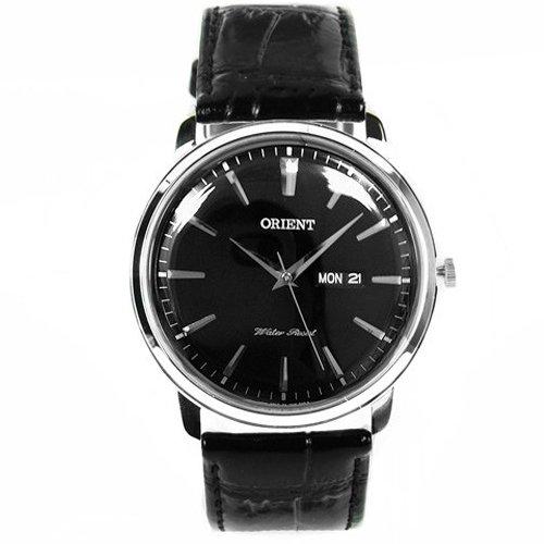 Orient FUG1R002B6 - Orologio da polso, pelle, colore: nero