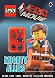 The LEGO Movie: Mighty Allies Activity Book with Minifigure