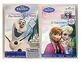 Disney Frozen Valentines Cards Olaf Elsa & Anna 32 Ct (2 Boxes)