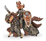 Papo Fantasy - Dark Beetle Warrior And Horse 38986