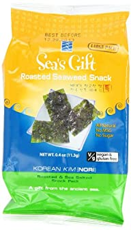 Sea's Gift Korean Seaweed Snack, Kim…